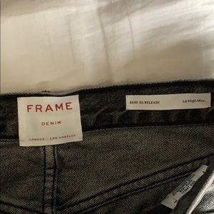 Frame Denim Skirts - Frame Black Denim Skirt NWT